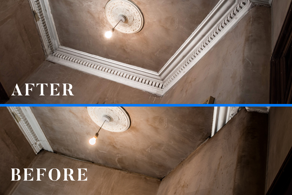 Link to Cornice repair and restoration in Govan, Glasgow