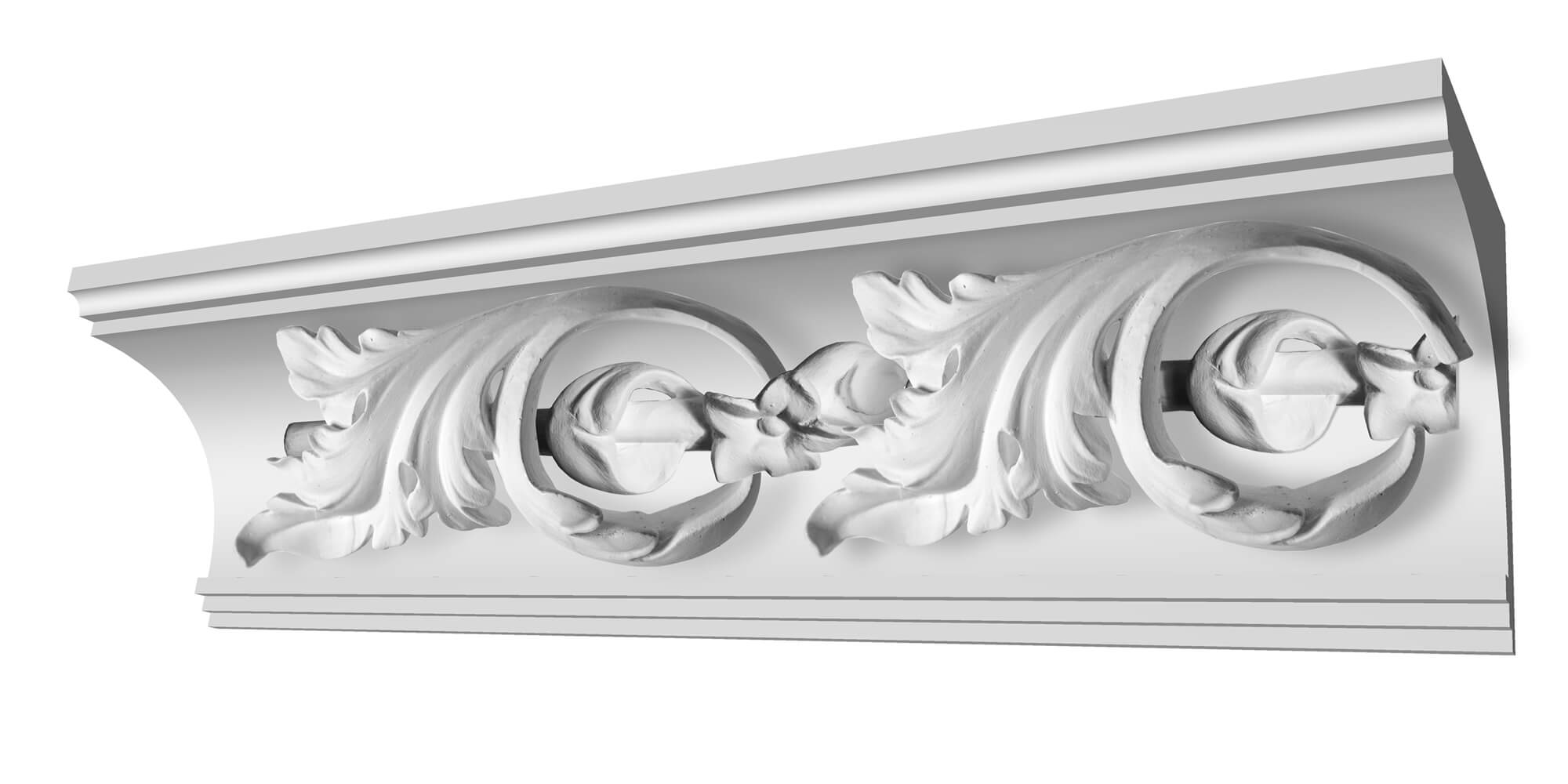 Image of Succoth Customisable Plaster Coving Decoration