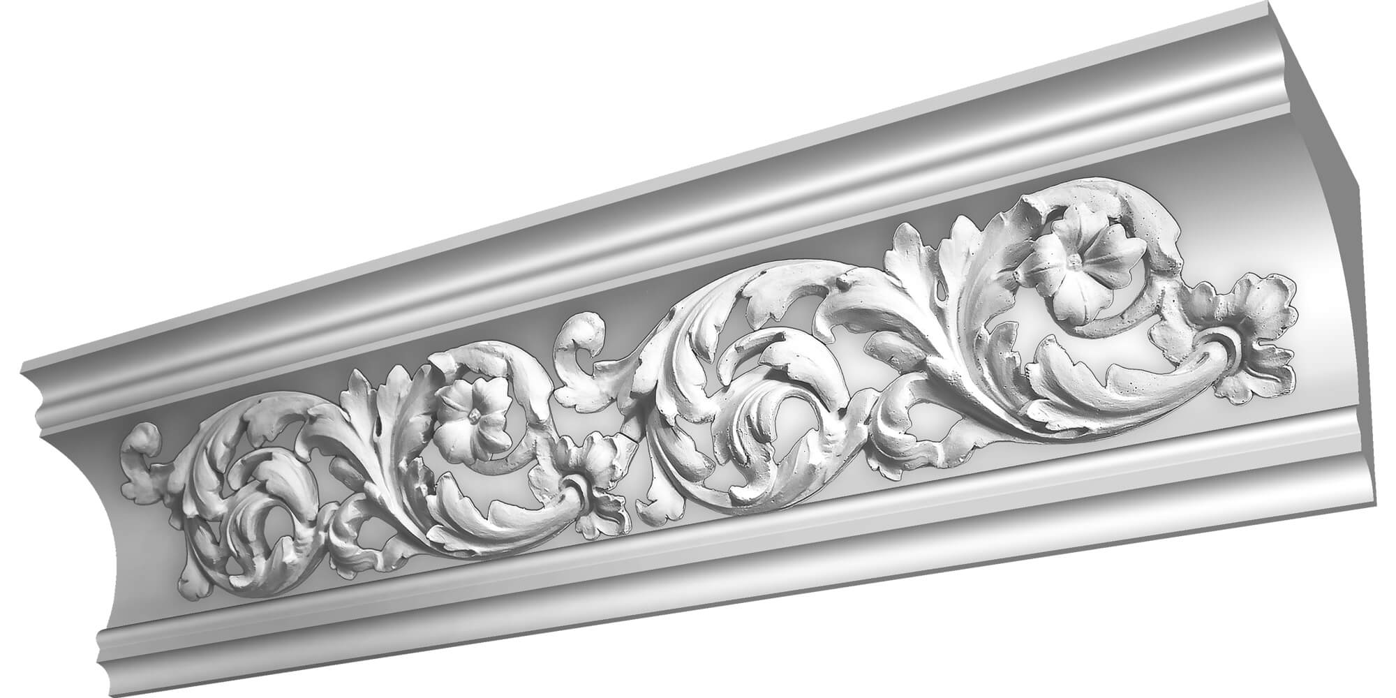 Image of Dumfries Customisable Plaster Coving Decoration