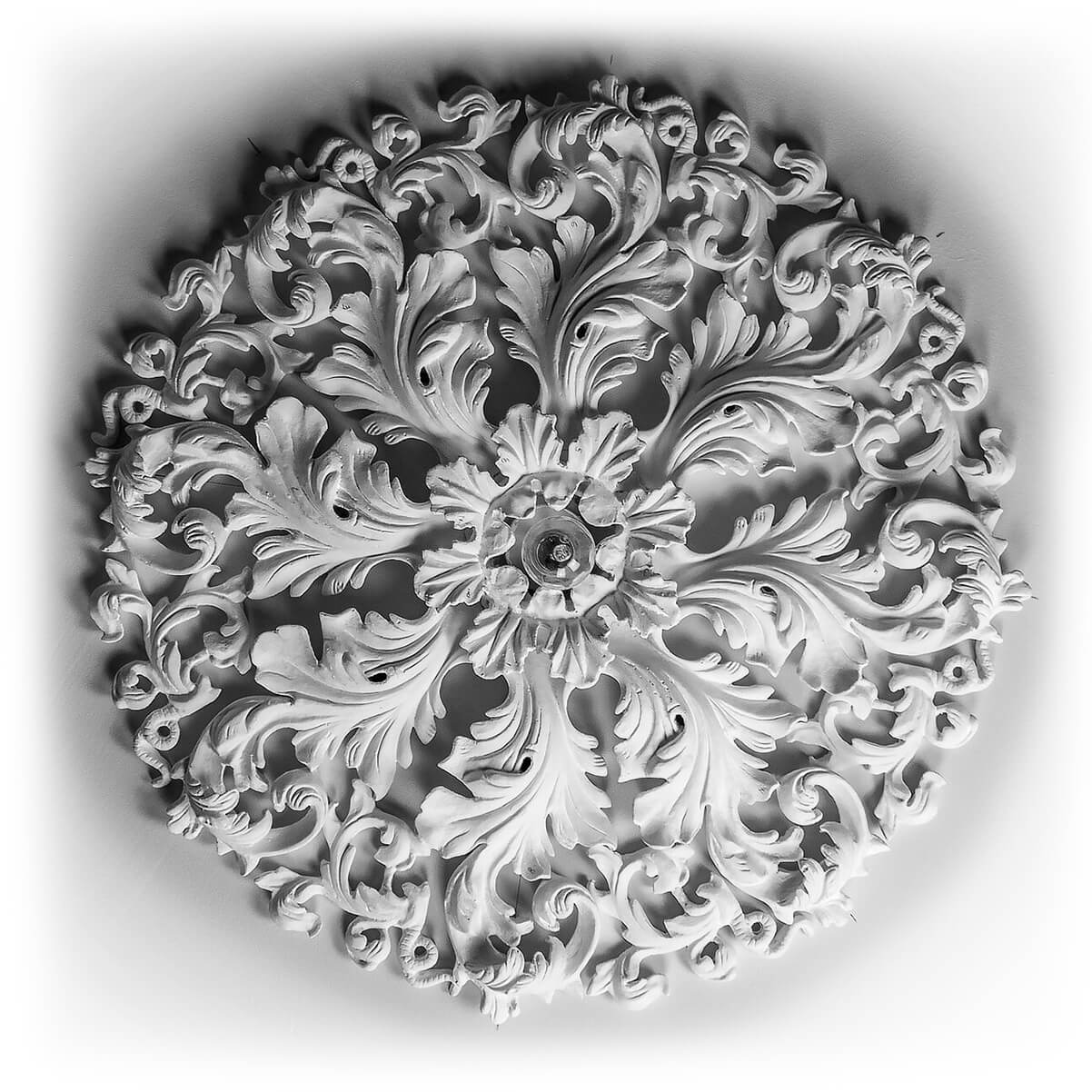 Lochwinnoch Ornamental Plaster Ceiling Rose