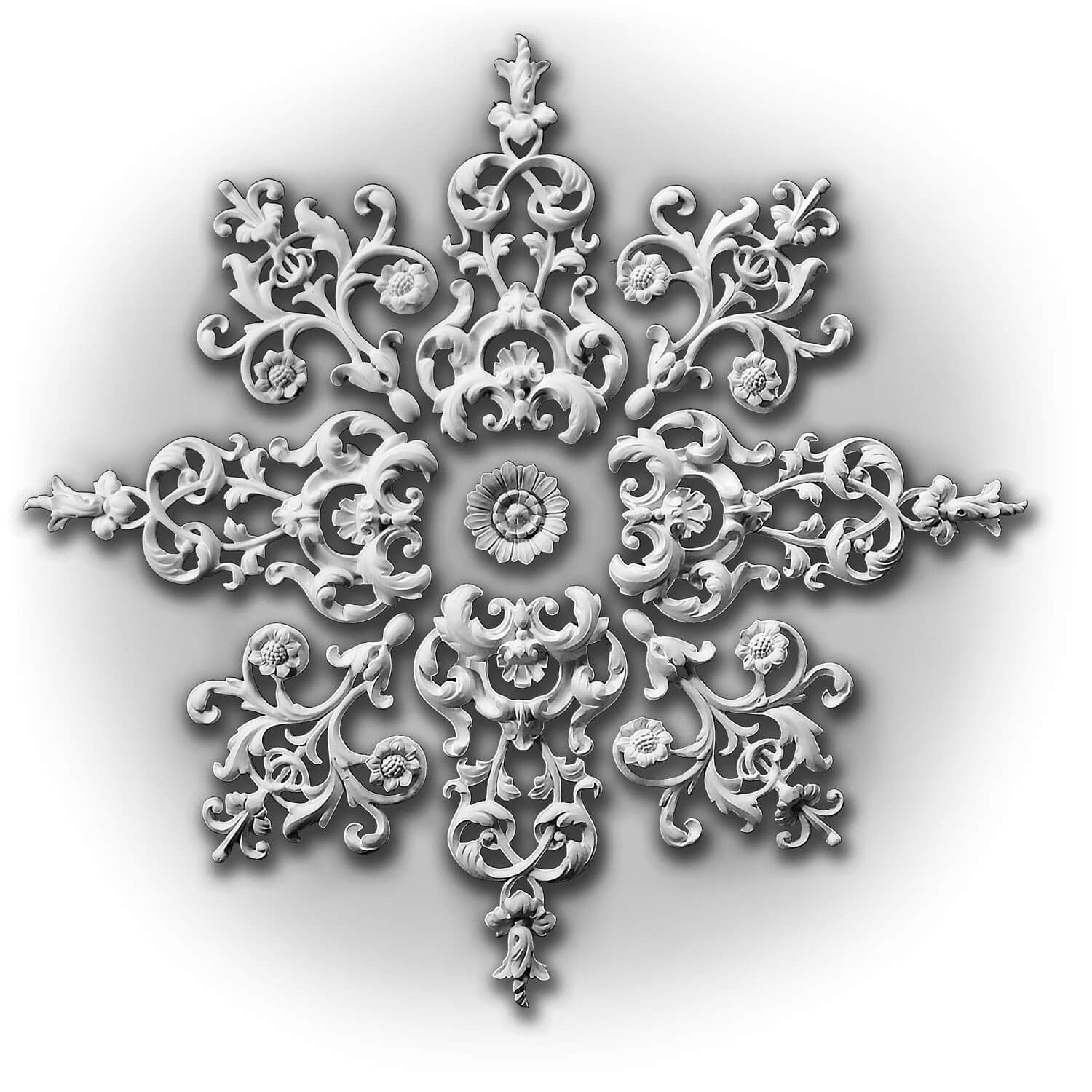 Image of Newtonmore Plaster ceiling rose